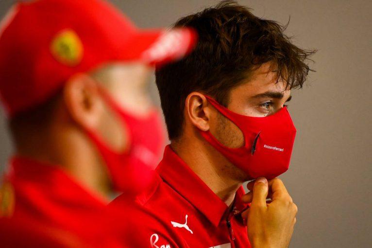 F1   F1第5戦木曜会見(1):「一方的に非難されるのは我慢できない」人種差別主義者かのように見なされたルクレールが反論