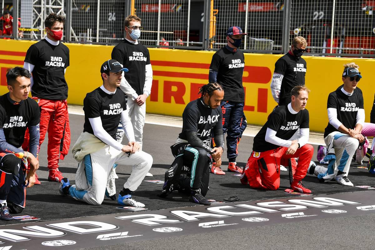 2020年F1第4戦イギリスGP スタート前セレモニー