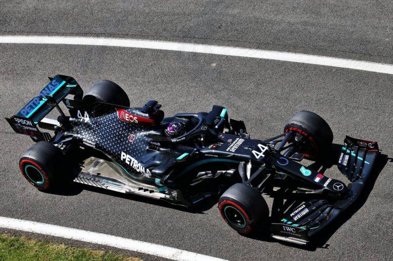 F1 | F1 70周年記念GP FP2:ハミルトンが最速でメルセデス1-2。終盤にはフェラーリにトラブル発生