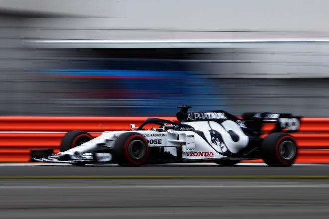 2020年F1第5戦70周年記念GP ダニール・クビアト(アルファタウリ・ホンダ)