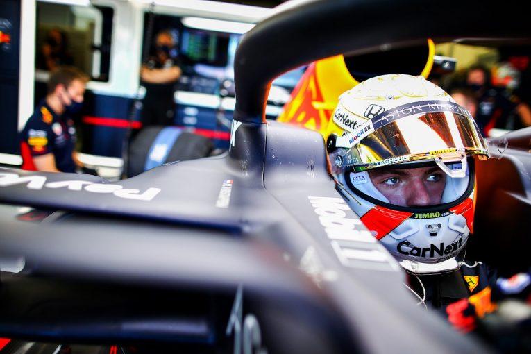 F1 | フェルスタッペン「車の感触は向上したが奇跡は起きない。3番手を確保する」レッドブル・ホンダ【F1第5戦金曜】