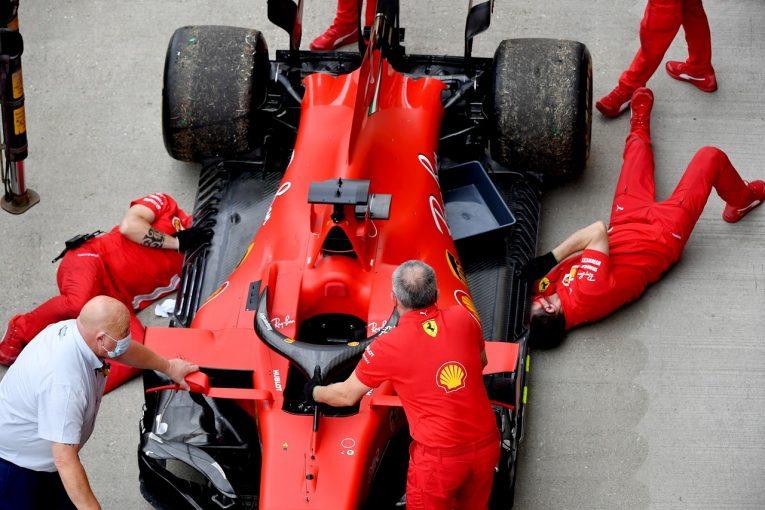 F1 | フェラーリのベッテル「突然エンジンが壊れた」ペナルティなしの交換へ【F1第5戦金曜】
