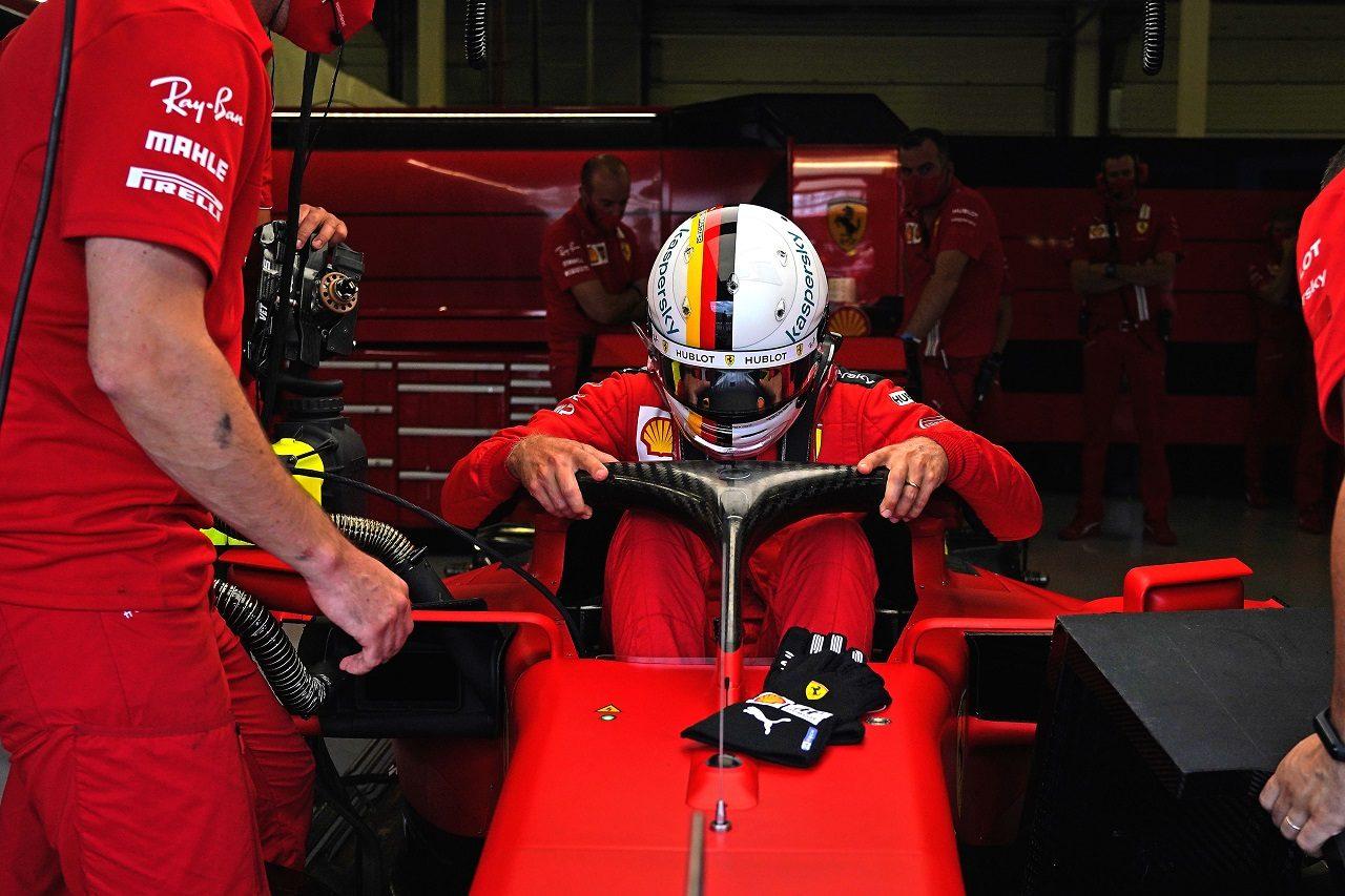 2020年F1第5戦70周年記念GP セバスチャン・ベッテル(フェラーリ)