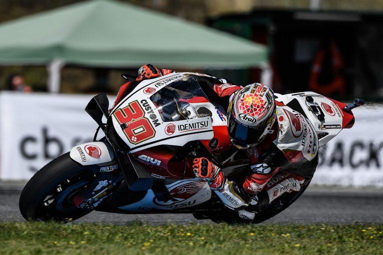 MotoGP   FP1でトップタイムの中上「初日としてはとてもうまく行った」/MotoGP第4戦チェコ初日