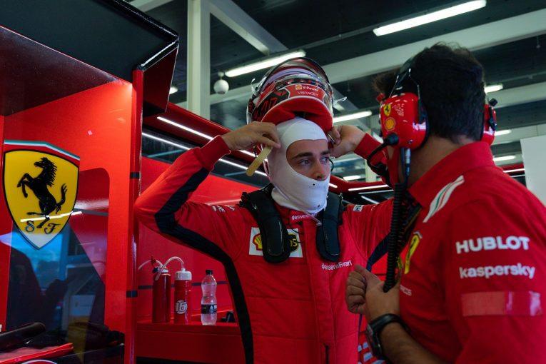 F1 | ルクレール「カギとなるミディアムタイヤで速さがない」フェラーリ【F1第5戦金曜】