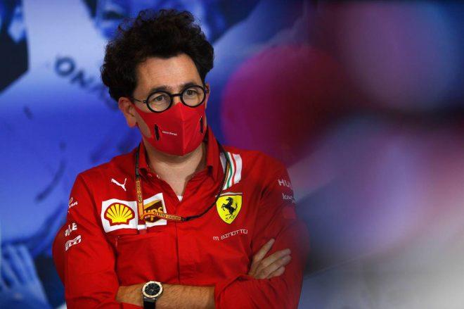 マッティア・ビノット(フェラーリ チーム代表)