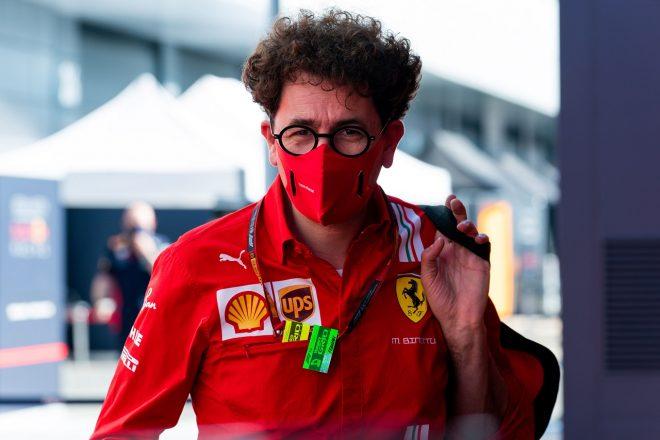 2020年F1第5戦70周年記念GP フェラーリチーム代表マッティア・ビノット