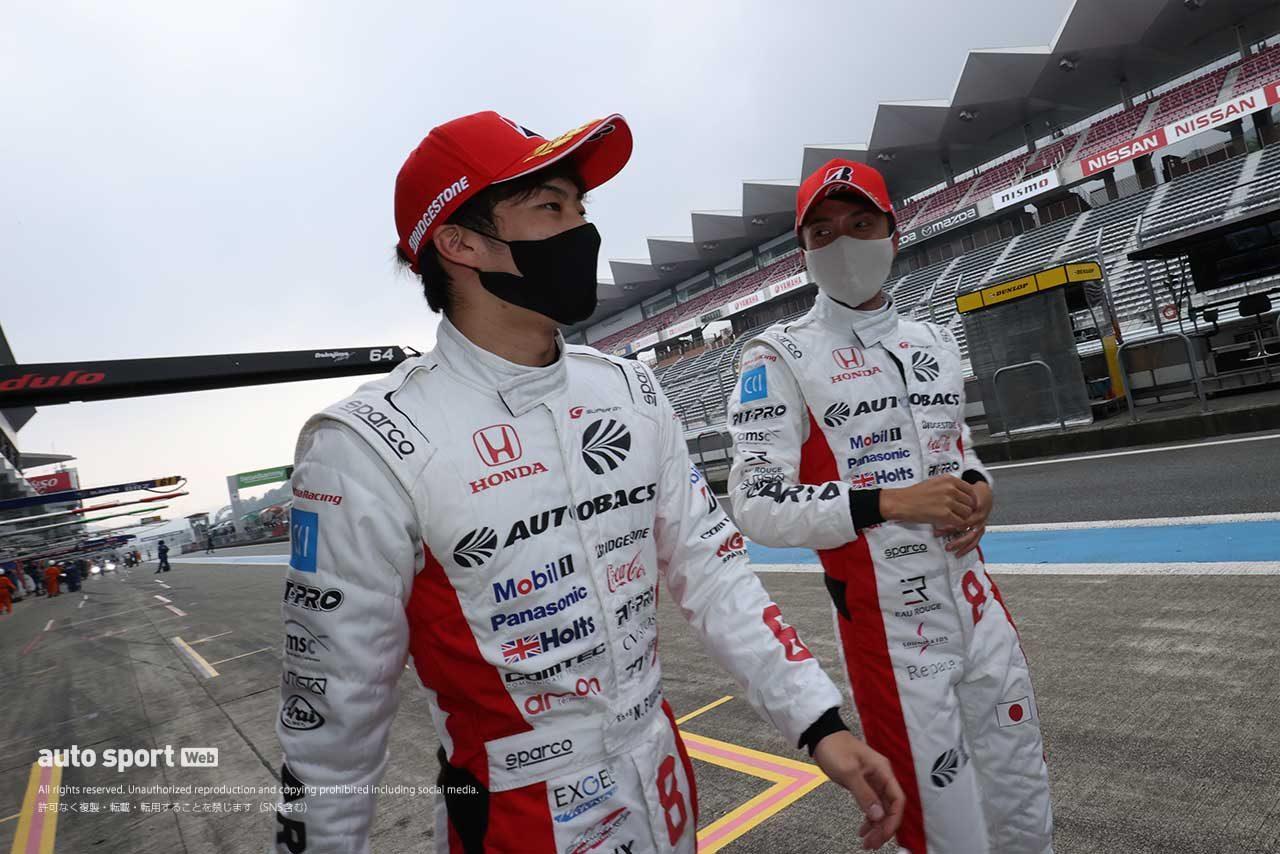 スーパーGT:ARTA NSX-GTがFR化されたマシンで初ポールポジションを獲得。【スーパーGT GT500クラス予選】