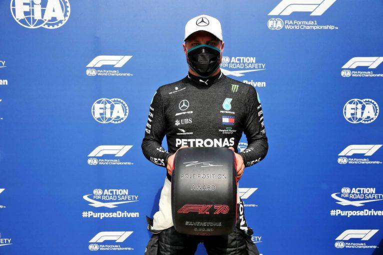 F1 | ボッタスがハミルトンを逆転しPP奪取。代役のヒュルケンベルグが3番手【F1第5戦予選】
