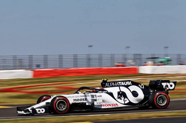 F1   アルファタウリ・ホンダF1コラム:ライバルの隙をついて予選トップ10奪取も、戦略ミスで入賞を逃したガスリー