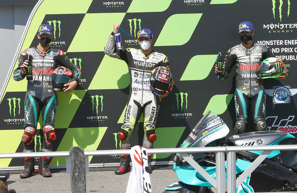 2020年MotoGP第4戦チェコGP予選