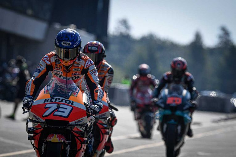 MotoGP   MotoGP第4戦チェコGP:スタッフのひとりが新型コロナウイルスの陽性反応