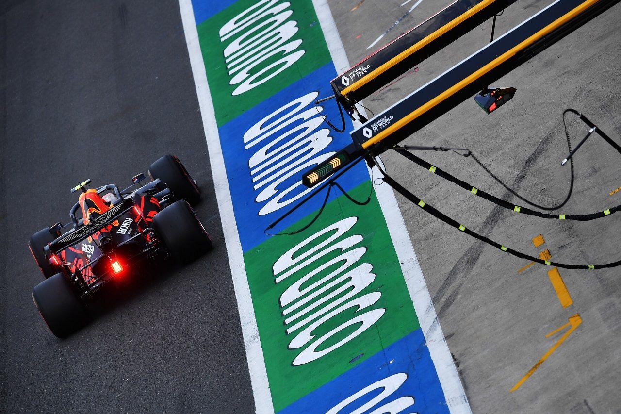 2020年F1第5戦70周年記念GP アレクサンダー・アルボン(レッドブル・ホンダ)