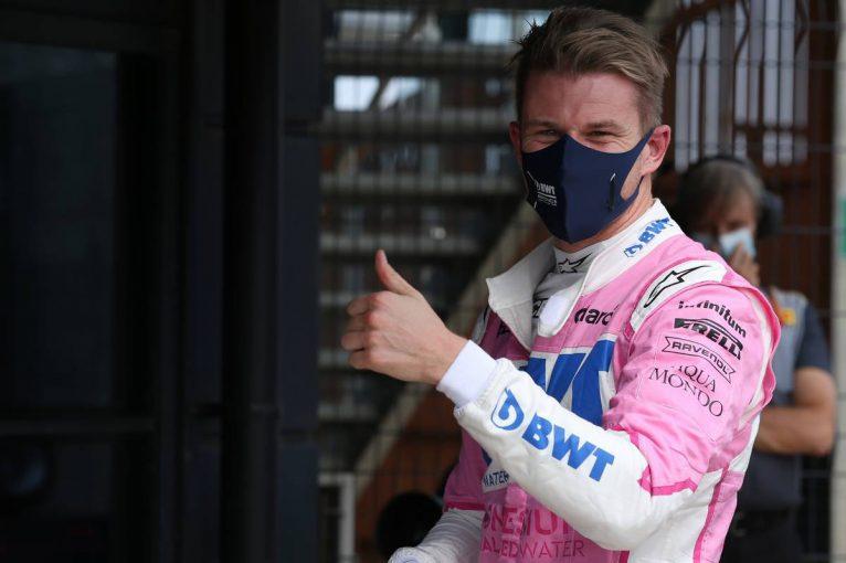 F1 | 【気になる一言】ヒュルケンベルグ、望外の3番手に「表彰台が目の前まで来ていることはわかっている」