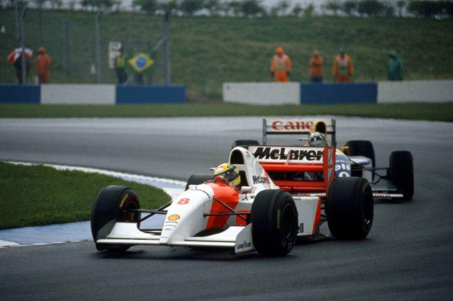1993年F1ヨーロッパGP(ドニントン・パーク) アイルトン・セナ(マクラーレン)