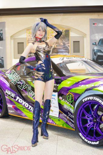 レースクイーン | 藤谷梨砂子(エヴァンゲリオンレーシングRQ2020)