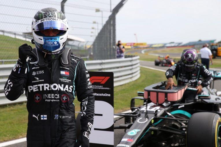 F1   ボッタス、今季2回目のポール「前回課題だった予選パフォーマンスを改善できた」メルセデス【F1第5戦】