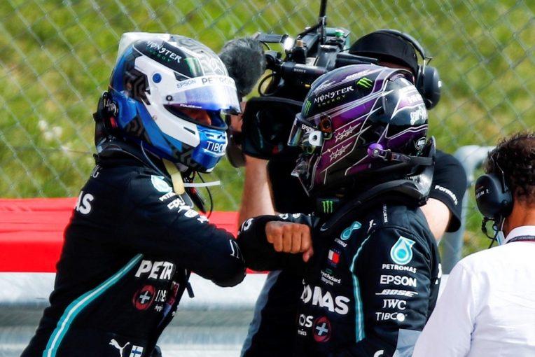 F1 | ハミルトン、0.063秒差でポールを逃す「別に世界の終わりじゃない。決勝で勝つ」メルセデス【F1第5戦予選】