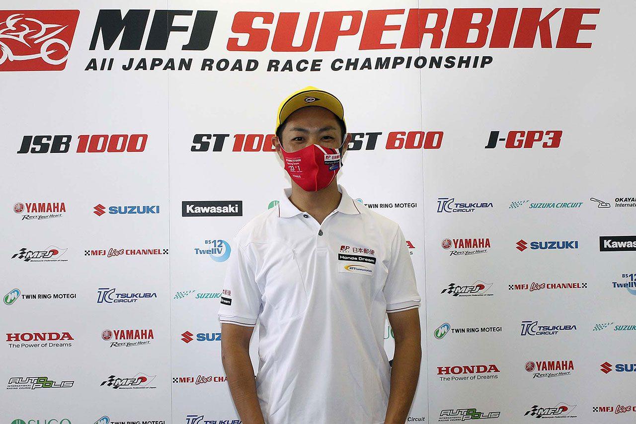ホンダの高橋裕紀がポールポジションを獲得/全日本ロード第1戦SUGO ST1000予選