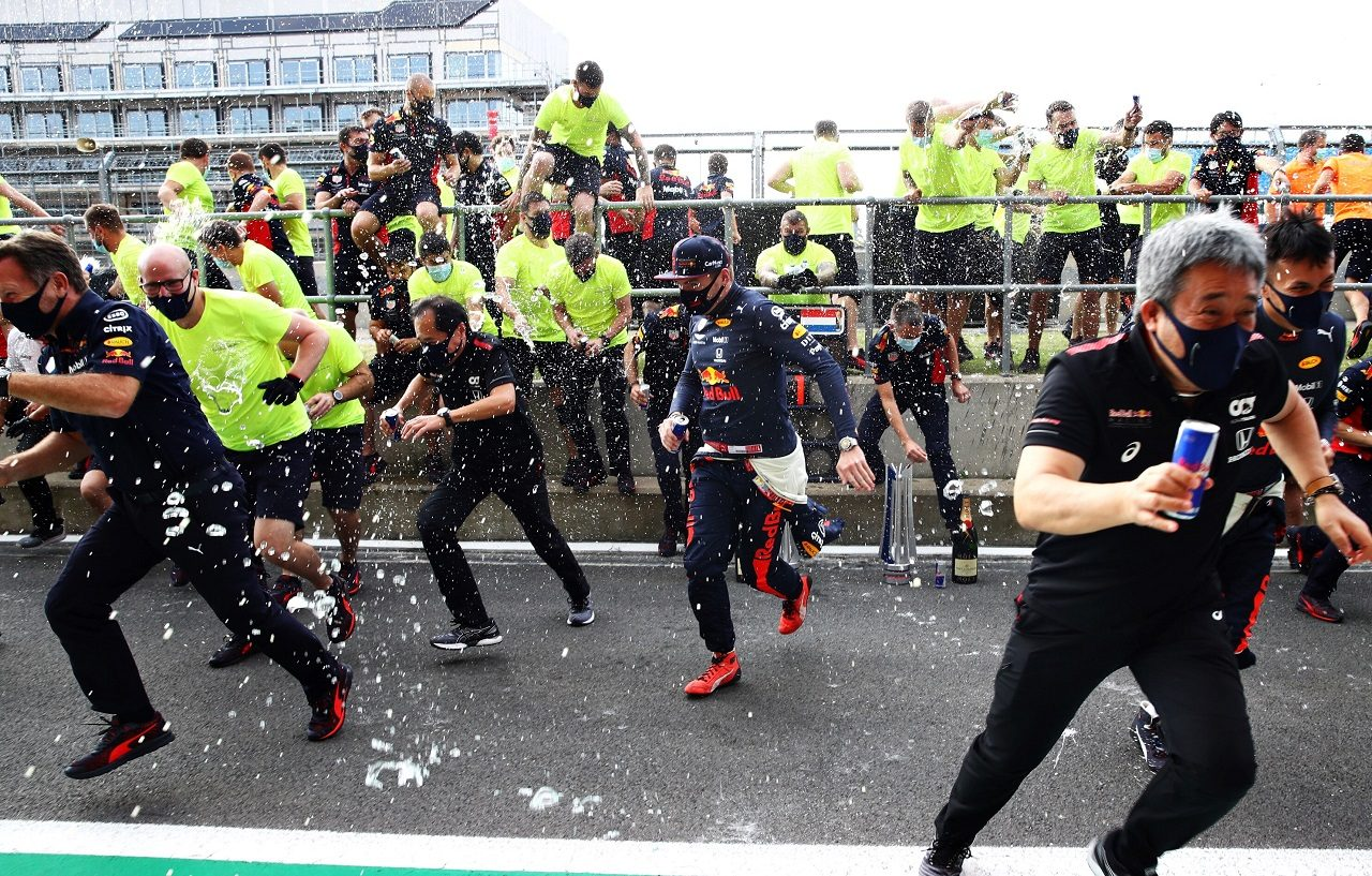 2020年F1第5戦70周年記念GP マックス・フェルスタッペンによりレッドブル・ホンダが今季初優勝