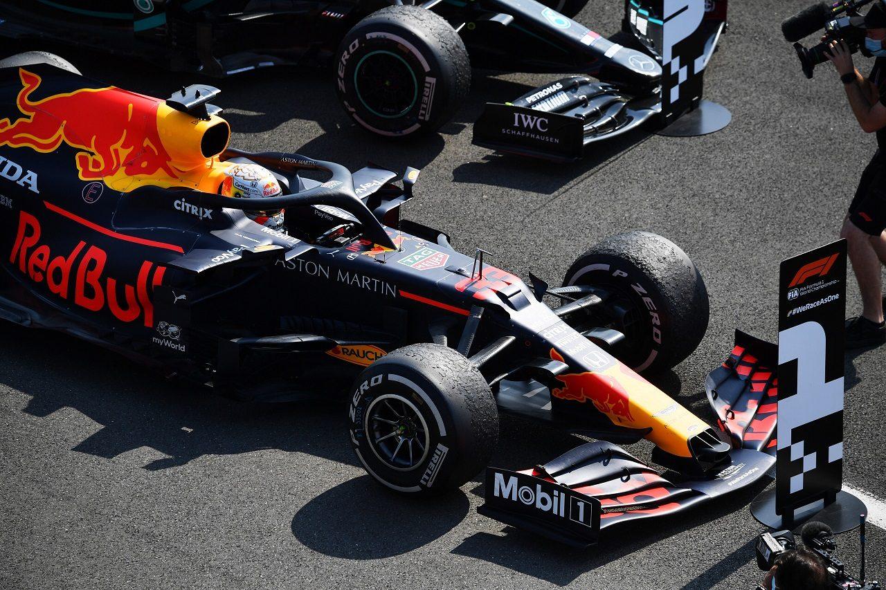 2020年F1第5戦70周年記念GP マックス・フェルスタッペン(レッドブル・ホンダ)が今季初優勝