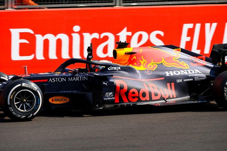 F1   レッドブル・ホンダ分析:運も味方に、ふたつの懸念を払拭。正しい戦略で主導権を握ったフェルスタッペン
