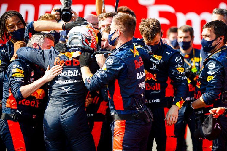 F1 | 「戦略を立てるチーム力と、それをやり切るフェルスタッペンが優勝の原動力」/ホンダF1山本雅史MD会見