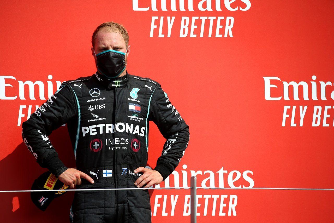 2020年F1第5戦70周年記念GP 3位を獲得したバルテリ・ボッタス(メルセデス)