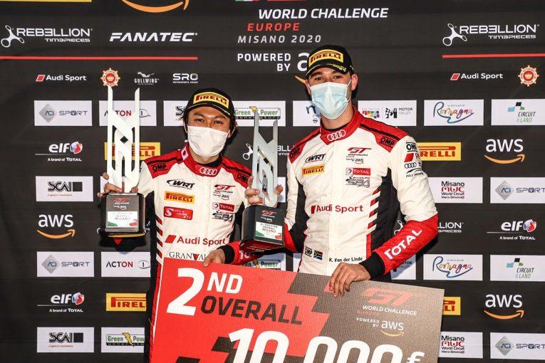 ル・マン/WEC | GTワールドチャレンジ・ヨーロッパ:スプリントカップ第1戦で富田組アウディが2位獲得