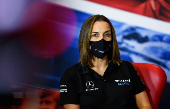 2020年F1第5戦70周年記念GP クレア・ウイリアムズ(ウイリアムズ)