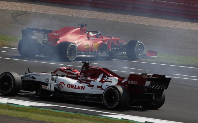 F1 | ベッテル「スピンと支離滅裂な戦略で入賞できず」フェラーリ【F1第5戦決勝】