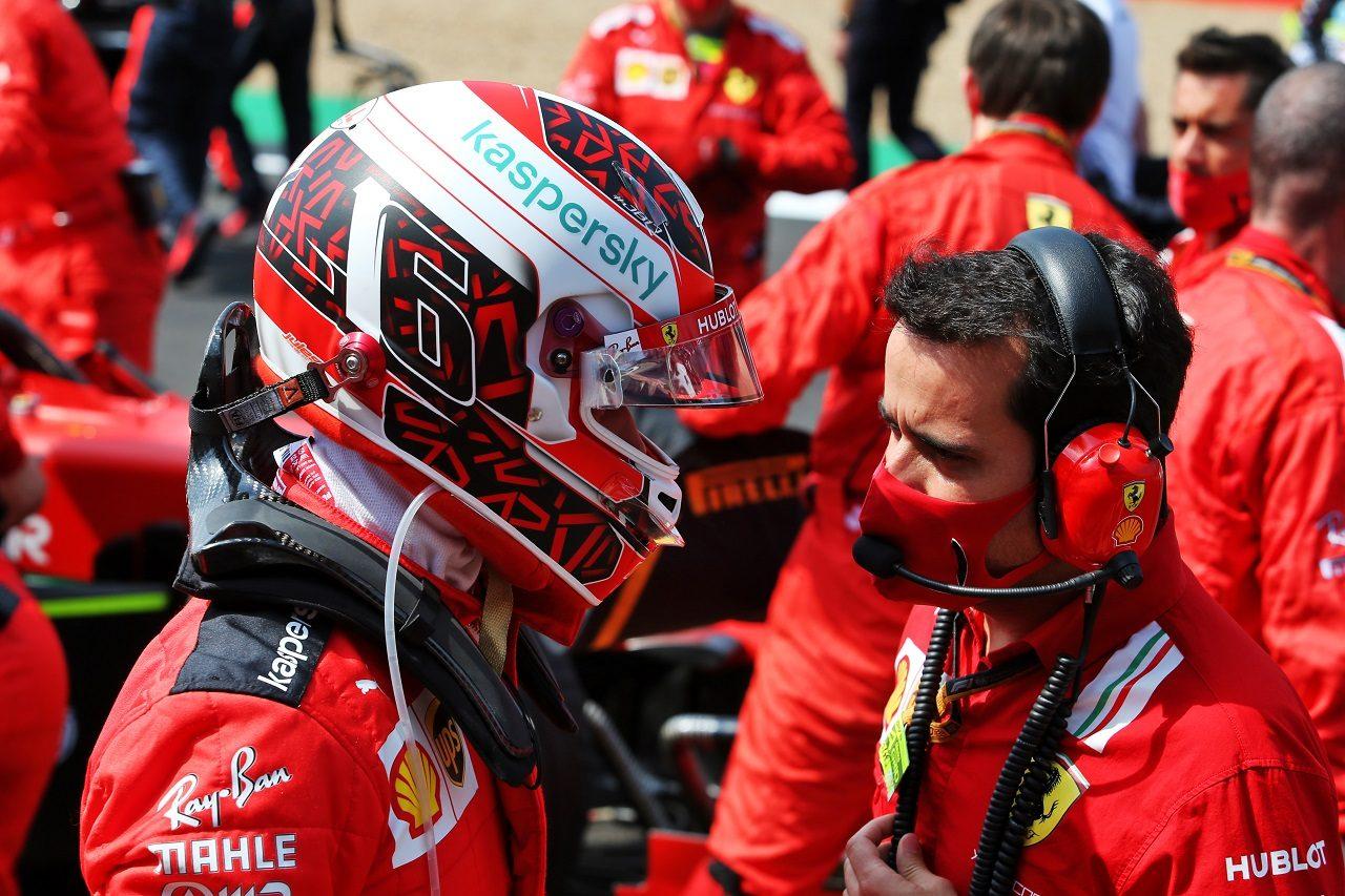 2020年F1第5戦70周年記念GP シャルル・ルクレール(フェラーリ)