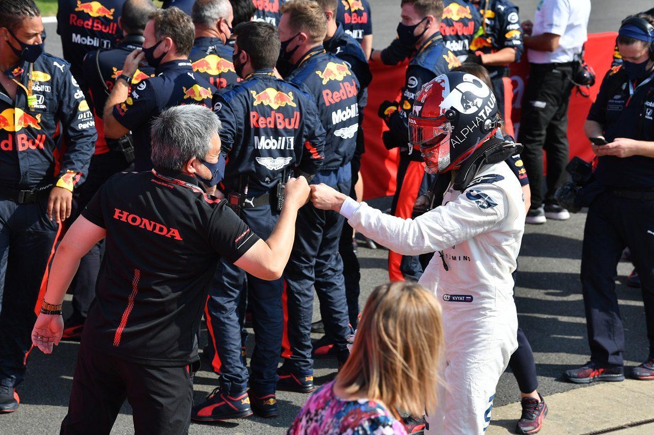 2020年F1第5戦70周年記念GP ダニール・クビアト(アルファタウリ・ホンダ)が10位入賞