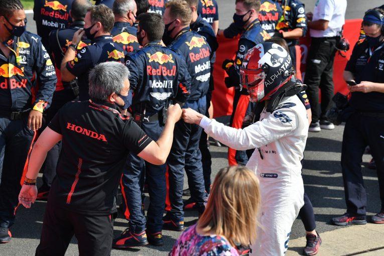 F1 | クビアト16番グリッドから10位入賞「マシンの力をすべて引き出した」アルファタウリ・ホンダ【F1第5戦決勝】