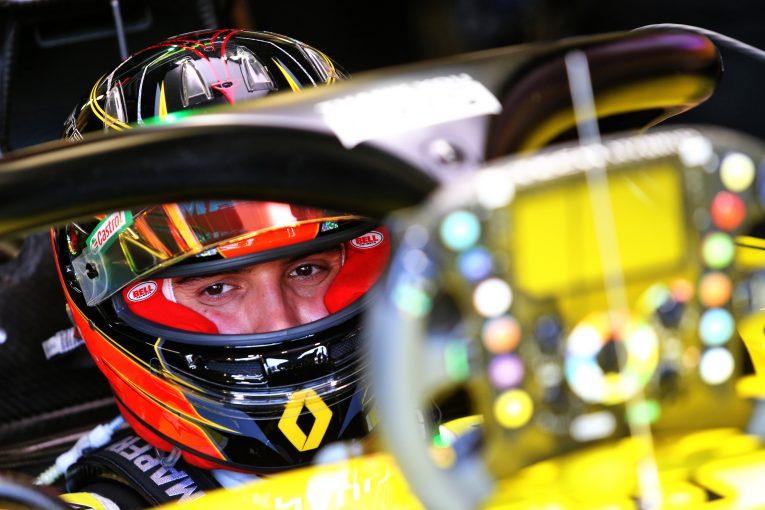 F1 | オコン8位「背後のライバルたちを抑えての結果に大満足」ルノー【F1第5戦決勝】