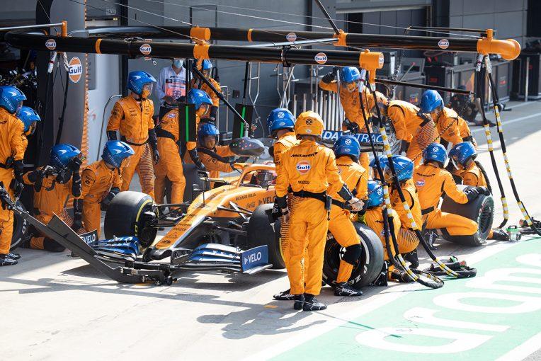 F1 | サインツJr.「ホイールガンのトラブルで、それまでの努力が水の泡に」:マクラーレン F1第5戦決勝