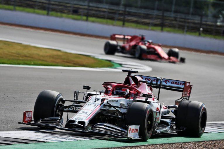 F1 | ライコネン「タイヤにひどい振動が起きて、ペースを落とすことを強いられた」:アルファロメオ F1第5戦決勝