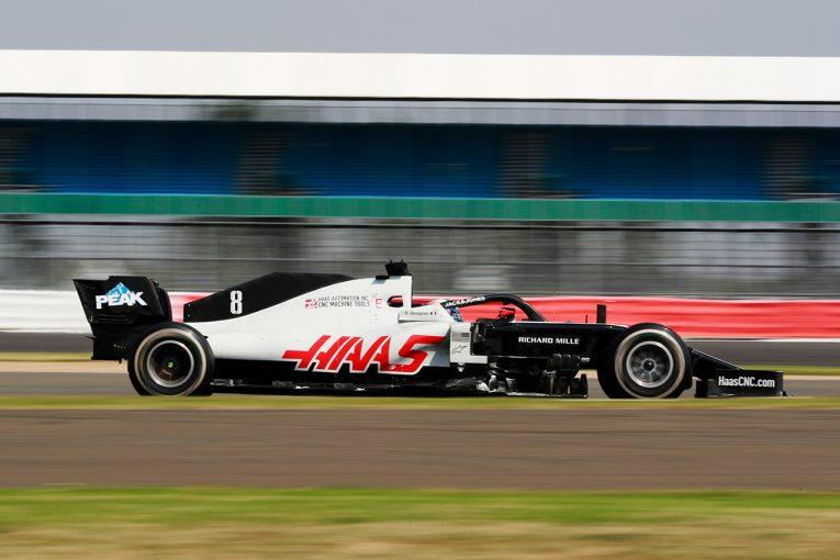 F1   グロージャン「風向きが不安定で突風も吹いたが、プッシュできてラップタイムも良かった」:ハース F1第5戦決勝