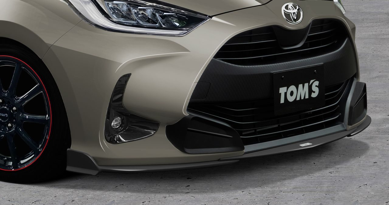 トムス、トヨタ・ヤリス用スタイリングパーツとエキゾーストシステム『トムス・バレル』発売