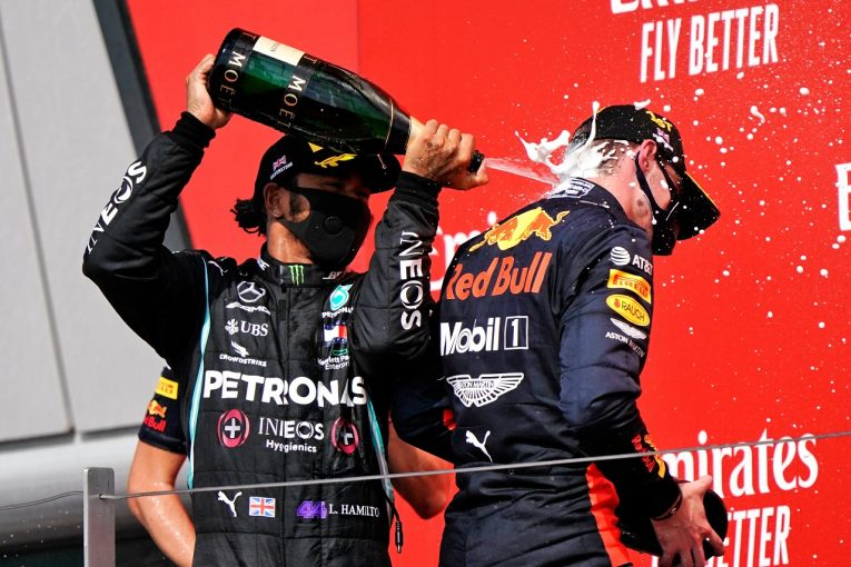 F1   「レッドブル・ホンダのフェルスタッペンと熾烈なタイトル争いをすることになる」メルセデスF1、警戒強める