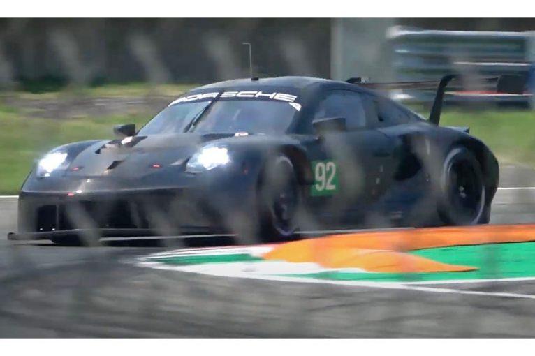 ル・マン/WEC | ポルシェ、911 RSRの新しい排気レイアウトを模索。音量抑制でテストの容易化図る