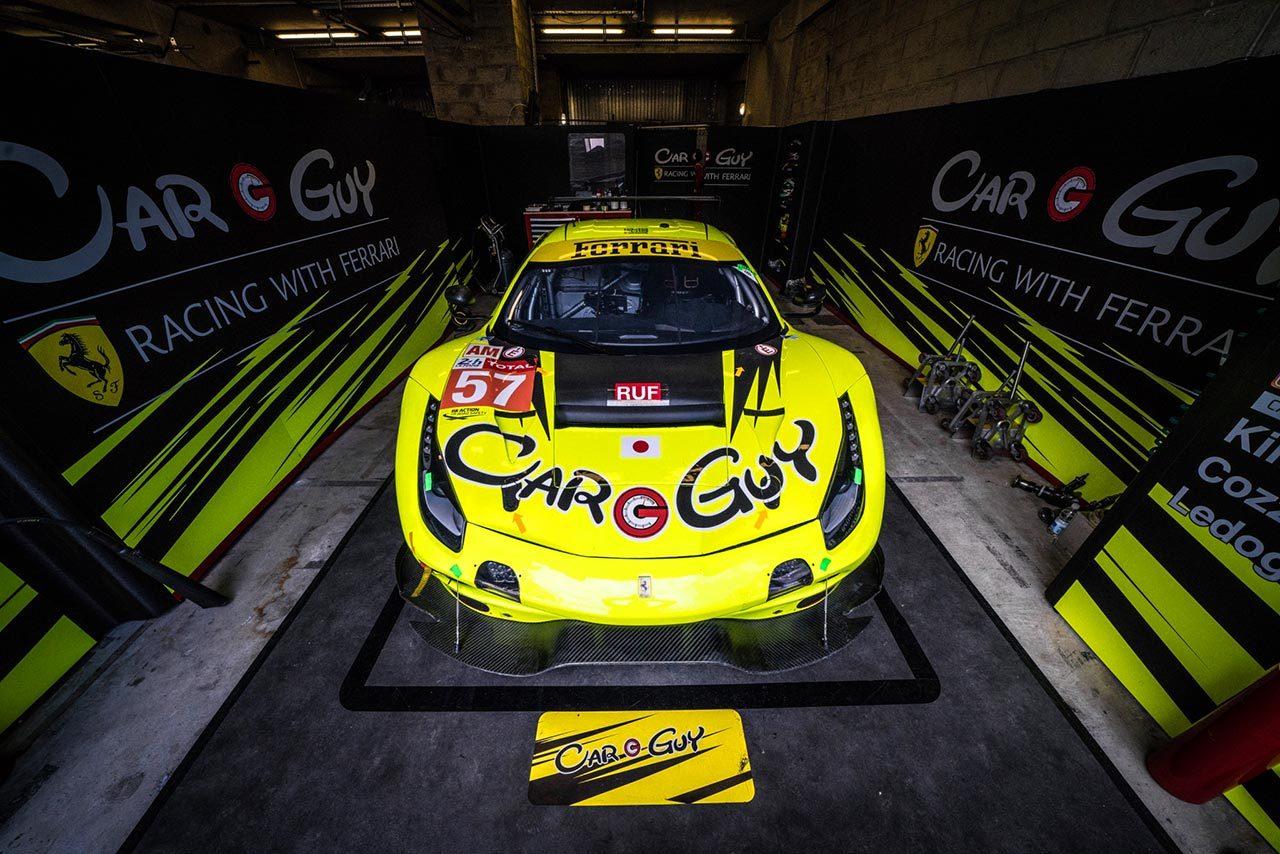 ル・マン24時間:CARGUY RACINGがLM-GTE Am参戦を発表。日本人ドライバー3人での挑戦へ