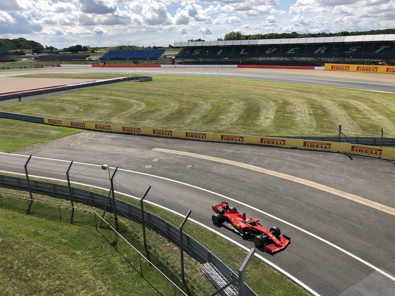 2020年F1第4戦イギリスGP/5戦70周年記念GP セバスチャン・ベッテル(フェラーリ)