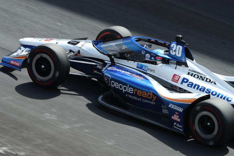 海外レース他 | インディ500走行2日目は2番手と順調な佐藤琢磨「トラフィックでのスピードに満足している」