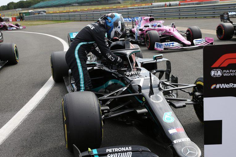 F1 | F1技術解説第5戦編:ヘルメットが動くことを防ぎ、ドライバーを守る『ジグザグ型シールド』