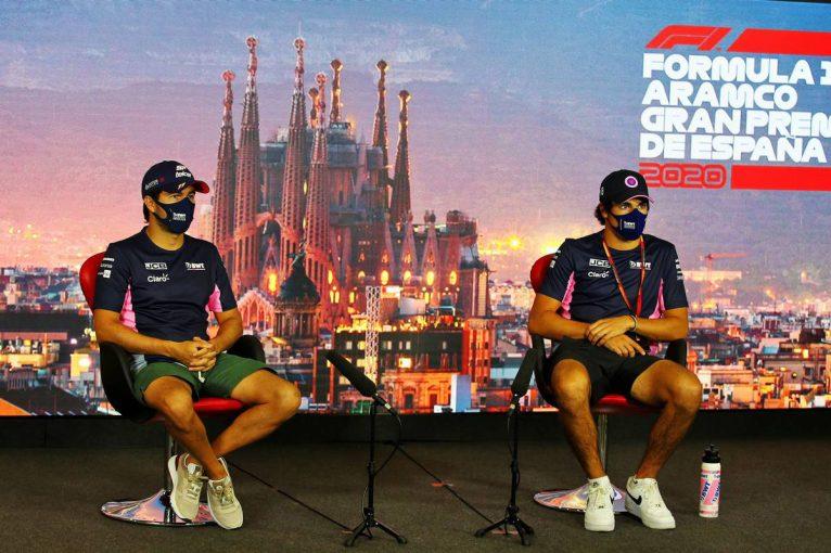 F1   F1スペインGP木曜会見(2):新型コロナから復帰のペレス「誰もが感染するリスクがある」一部報道に苦言