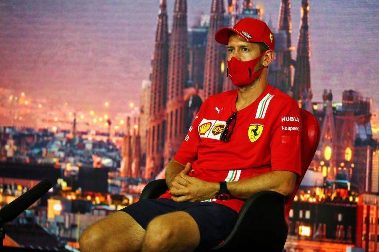 """F1   F1スペインGP木曜会見(3):ベッテル、""""自信が持てない""""発言の真意は「グリップが足りていないということ」"""