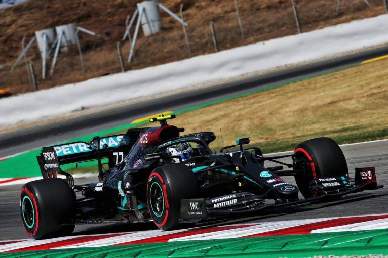 F1   F1スペインGP FP1:ボッタスが首位でメルセデス1-2。フェルスタッペンが約1秒遅れの3番手