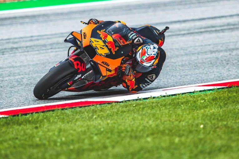 MotoGP   MotoGP第5戦:KTMファクトリーチームのポル・エスパルガロが初日総合トップ。3番手には中上がつける