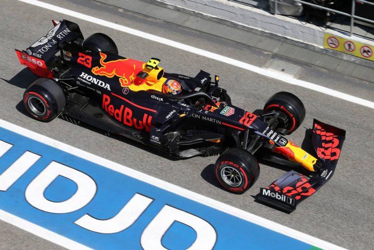 F1 | レッドブル・ホンダ分析:アルボンは3基目のTCとMGU-H投入もペナルティなし。15戦以上の開催が確定か